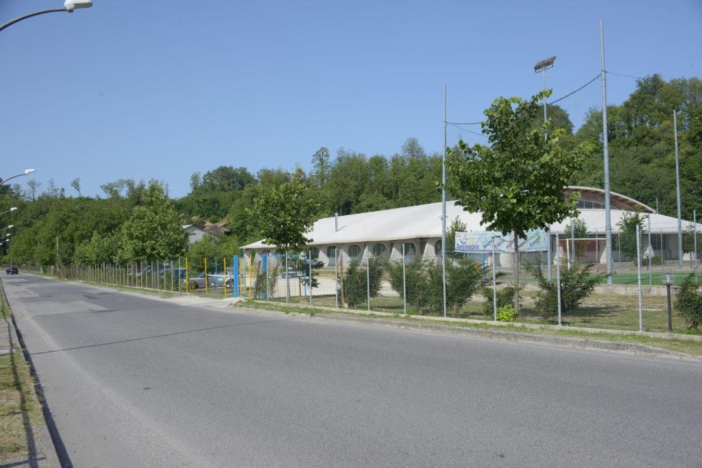 Sporting Club Calabria dall'esterno